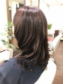髪をまとめるためのパーマ